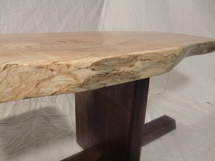 spalted twin coffee tables